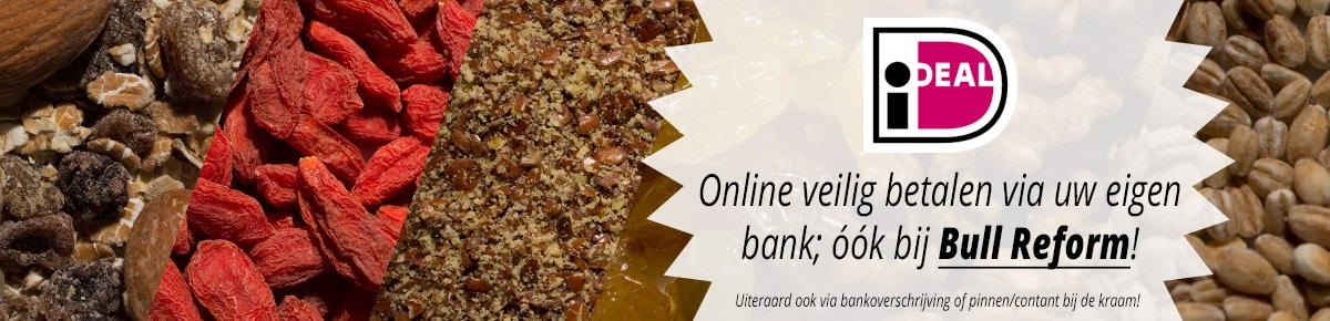 Online veilig betalen via uw eigen bak; ook bij Bull Reform!